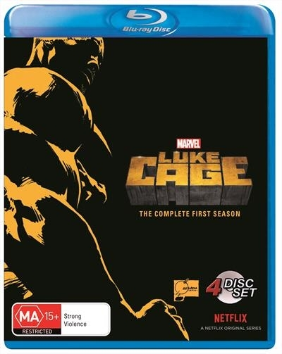 Marvel's Luke Cage - Season 1 on Blu-ray