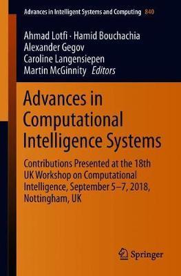 Advances in Computational Intelligence Systems image