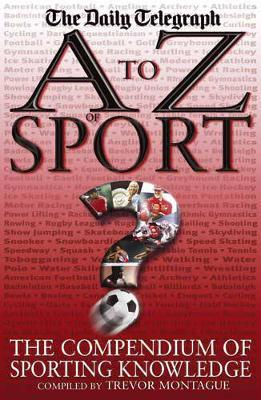 A to Z of Sport by Trevor Montague image