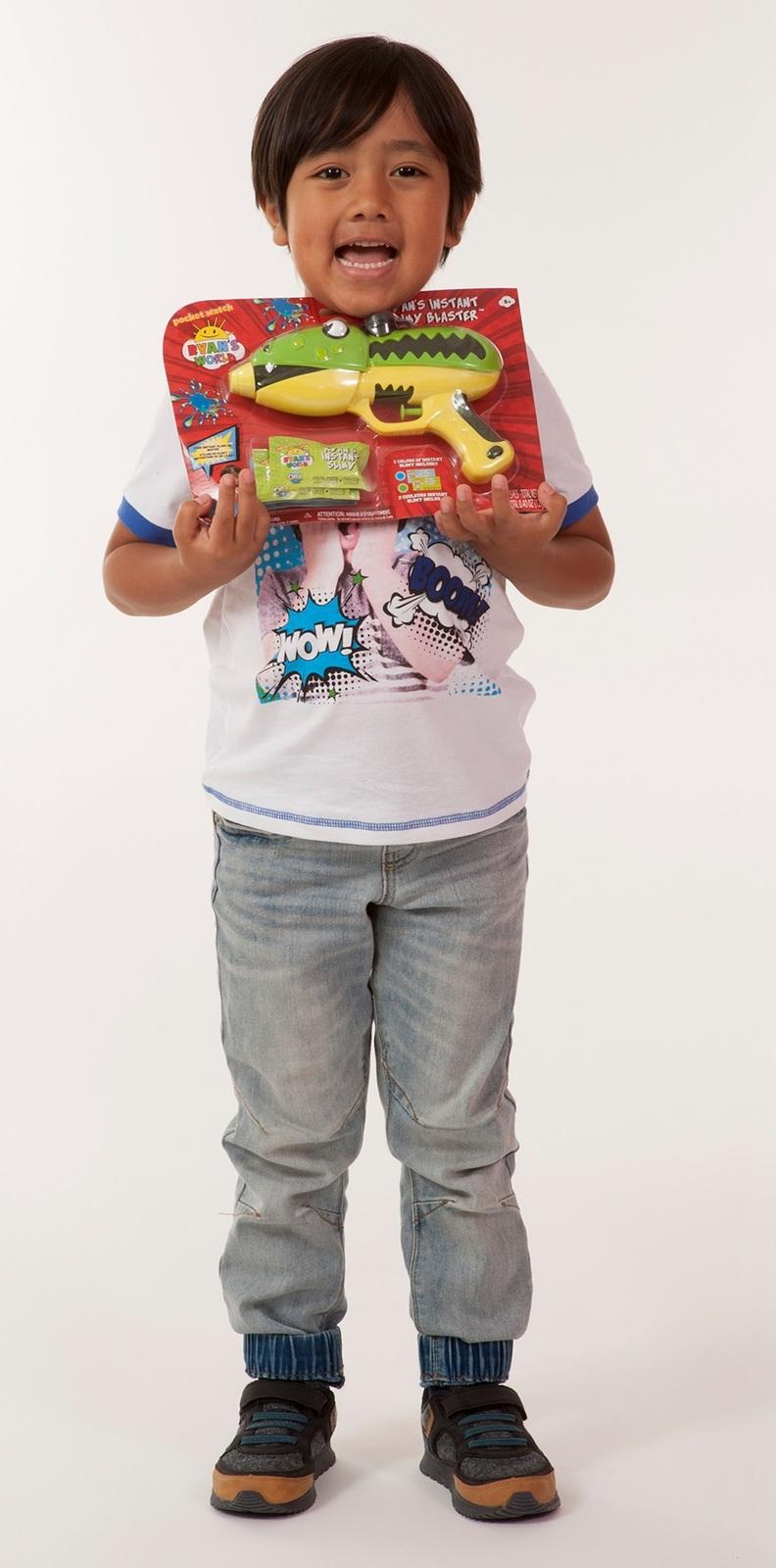 Ryans World - Ryan's Instant Slime Blaster (Assorted) image
