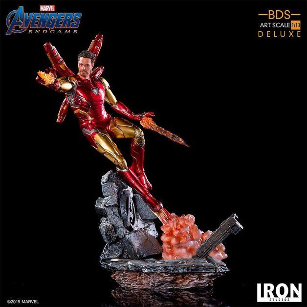 Avengers: Endgame - 1/10 Iron Man (Deluxe) - Battle Diorama Statue
