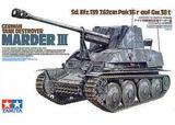 Tamiya German Tank Destroyer Marder III 1:35 Model Kit