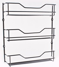 3 Tier Chrome Spice Rack
