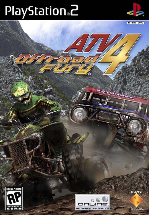 ATV Offroad Fury 4 for PlayStation 2