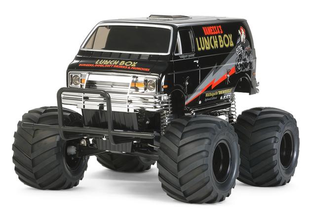 Tamiya RC Lunch Box Black Edition CW01 Monster Van 1/12 Kit