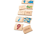Plan Toys Number 1-10 Tile Set