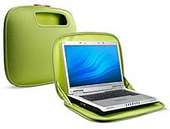 Belkin Laptop @ Home PocketTop Case Khaki with  Green