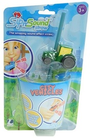 Sip N' Sound Vehicle Straw - Tractor