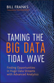 Taming The Big Data Tidal Wave by Bill Franks