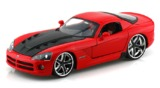 Jada: 1/24 Dodge Viper Srt-10 Diecast Model (Red)