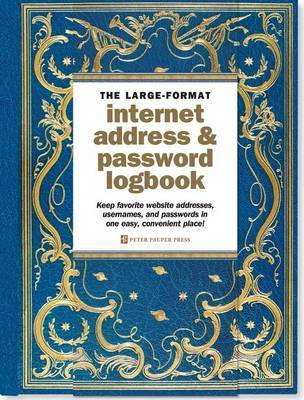 Celestial Large-Format Internet Address & Password Logbook image