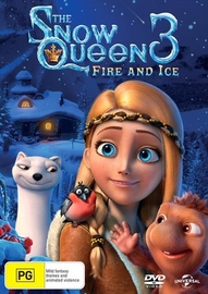 The Snow Queen 3: Fire & Ice on DVD