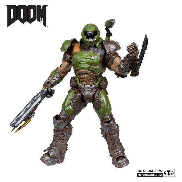 "Doom: Doom Slayer (Classic) - 7"" Articulated Figure"