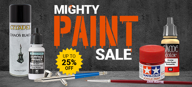 Mighty Paint Sale