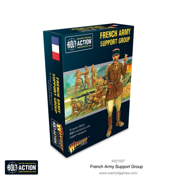 Bolt Action: French Army Support Group