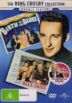 Bing Crosby Collection, The - Birth Of The Blues / Blue Skies (2 Disc Set) on DVD