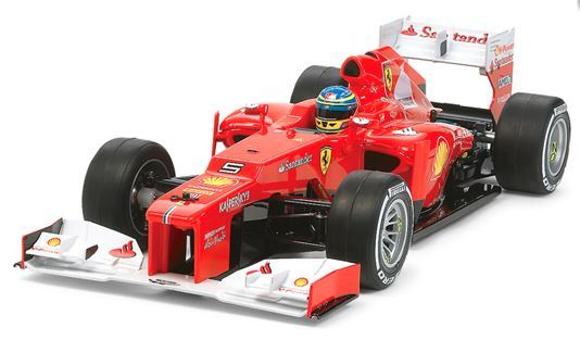 Tamiya Ferrari F2012 (Excludes Stickers) RC Body image