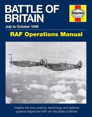Battle Of Britain Manual by Andy Saunders image
