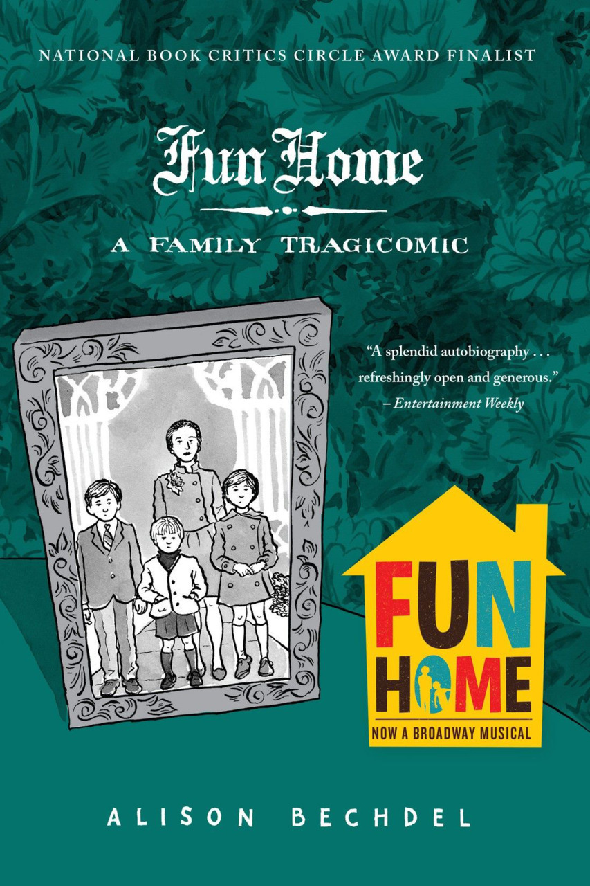 Fun Home by Alison Bechdel image