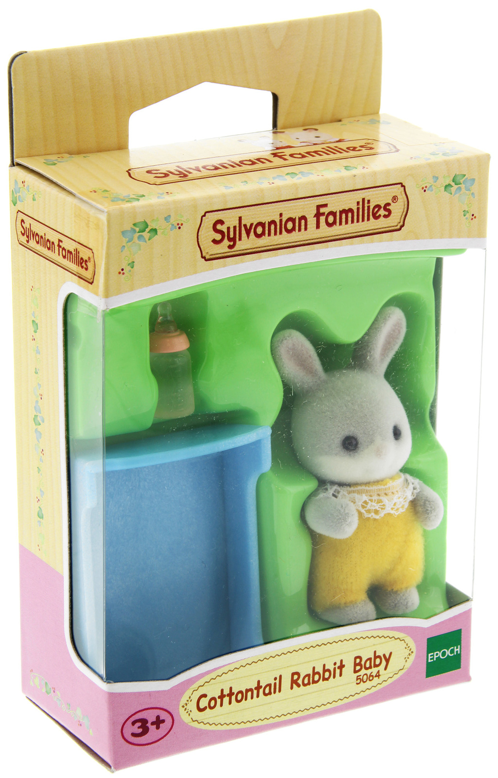 Sylvanian Families: Cottontail Rabbit Baby - Yellow Charlie image