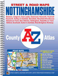 Nottinghamshire County Atlas by Geographers A-Z Map Company