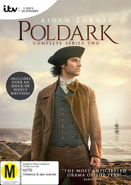 Poldark - Season 2 on DVD image