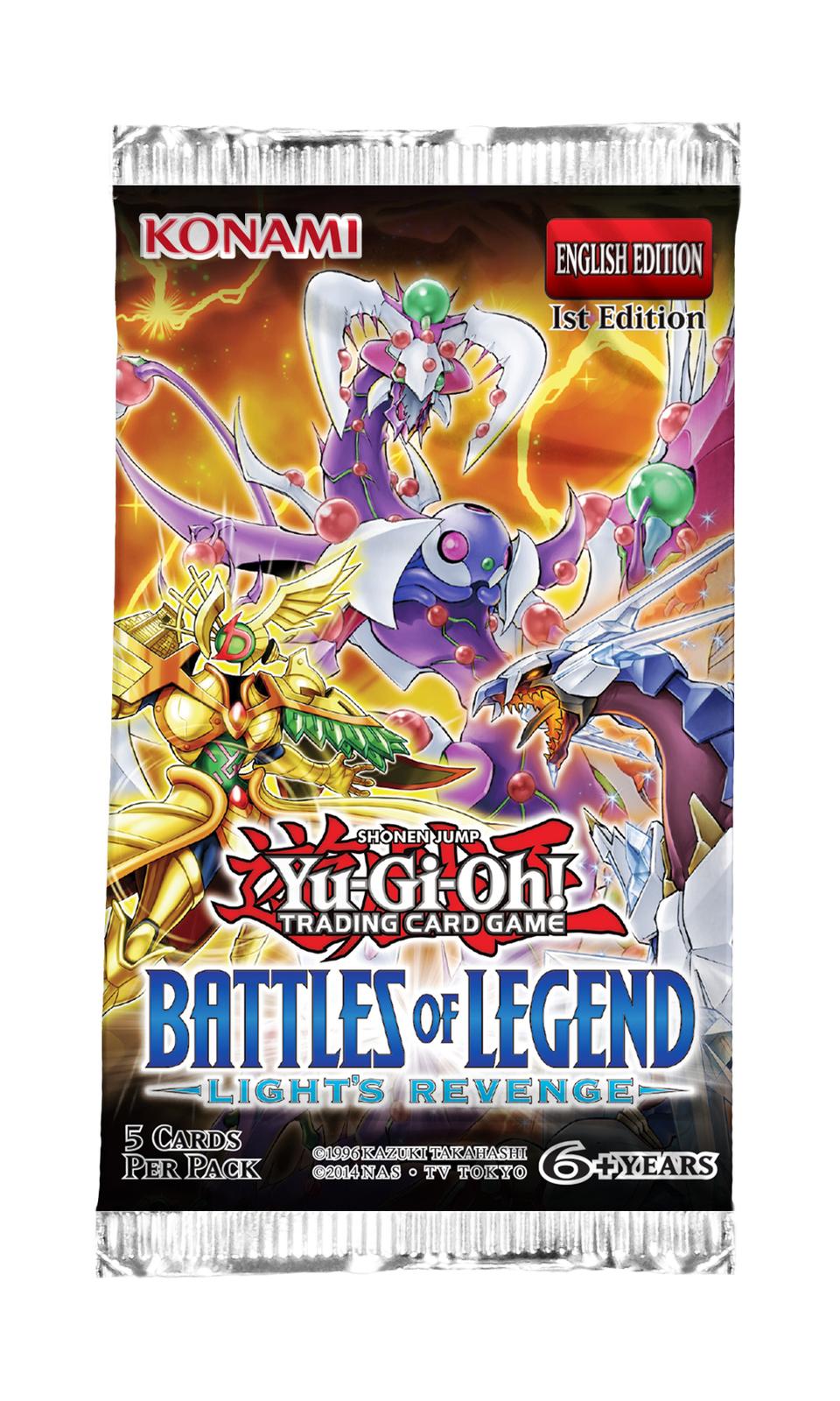 Yu-Gi-Oh! Battles Of Legend -Lights Revenge- Single