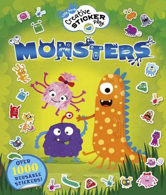 Little Hands Creative Sticker Play Monsters by Lisa Regan