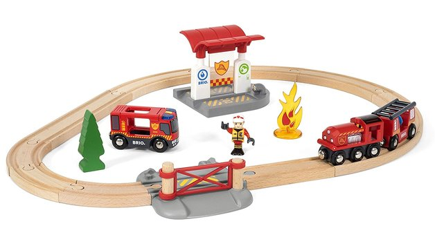 Brio: Fire Rescue - Railway Set