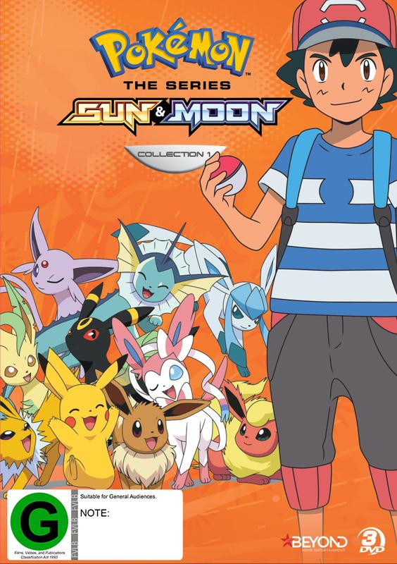 Pokemon The Series: Sun & Moon - Collection 1 on DVD
