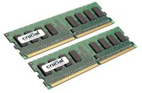 Crucial 4GB kit (2GBx2) 240-pin DIMM DDR2  PC2-5300 NON-ECC image