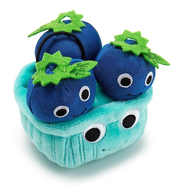 Yummy World: Boo Blueberry - Small Plush