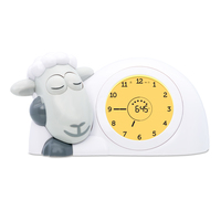 Zazu Sam the Sheep Sleep Trainer Clock - Grey image