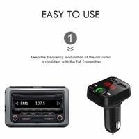 Bluetooth FM Transmitter Adapter