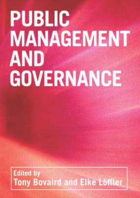 Public Management and Governance image