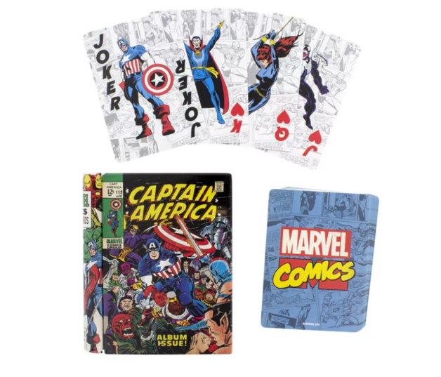 Marvel Comic Book Playing Cards