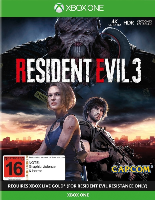 Resident Evil 3 Lenticular Edition for Xbox One