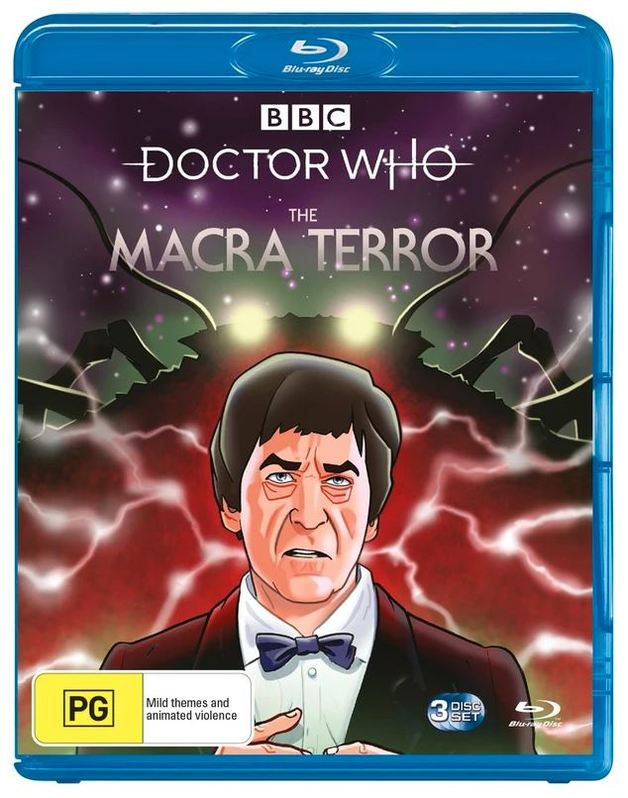 Doctor Who: (1966) Macra Terror on Blu-ray