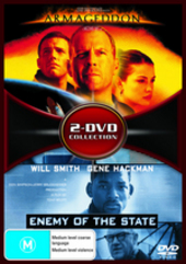 Armageddon / Enemy Of The State - 2-DVD Collection (2 Disc Set) on DVD