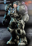 Starcraft 2 Jim Raynor Terran Space Marine 1/6 Action Figure