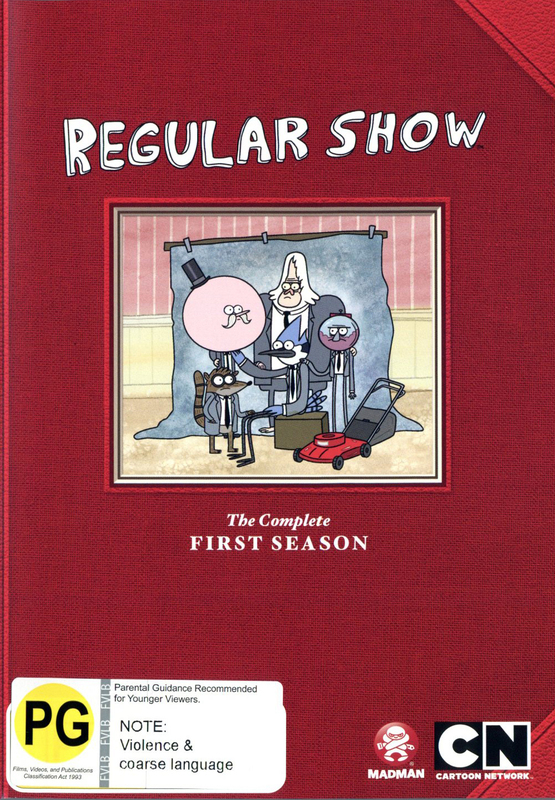 Regular Show - The Complete First Season on DVD