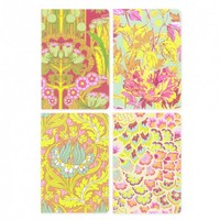 Soul Blossoms Mini Eco-Journal Set (4 x Pocket Notebooks) by Amy Butler