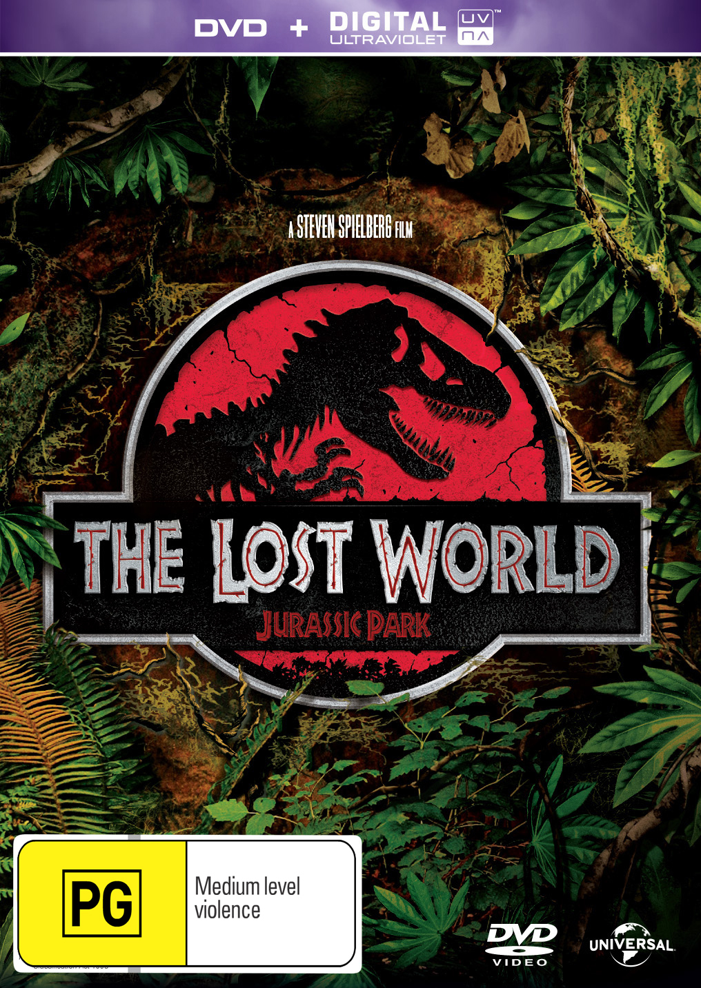 Jurassic Park: The Lost World on DVD image