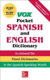 Vox Pocket Spanish and English Dictionary by Vox