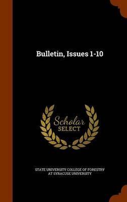 Bulletin, Issues 1-10