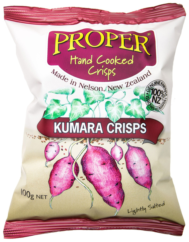 Proper Crisps Kumara 100g
