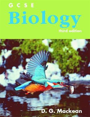GCSE Biology Third Edition by D.G. Mackean image