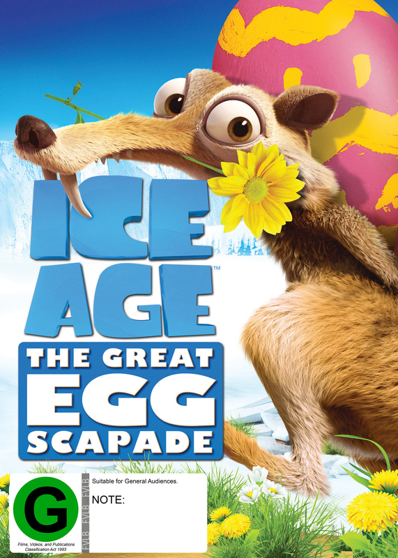 Ice Age: The Great Eggscapade on DVD