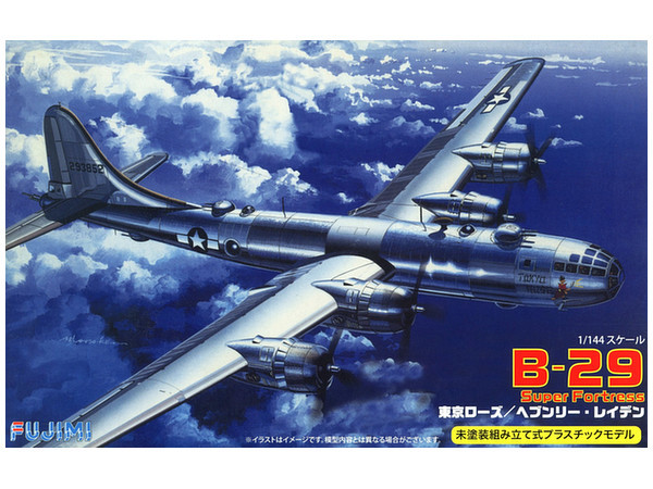 Fujimi: 1/144 B-29 Superfortress Tokyo Rose/Heavenly Laden - Model Kit