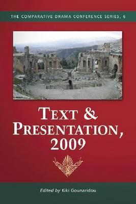 Text & Presentation, 2009